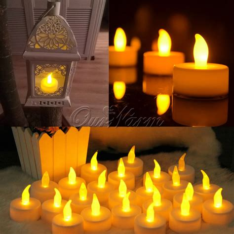 no flicker led christmas lights 12pcs led candle for halloween decorations flickering