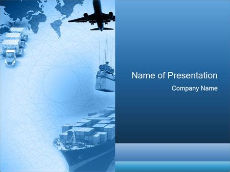 logistics powerpoint template powerpoint templates free logistics choice image