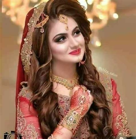 Best Pakistani Bridal Hairstyles 2019 for Wedding