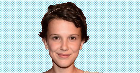 eleven actress age stranger things millie bobby brown on playing eleven her