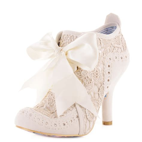 womens irregular choice abigails lace ankle