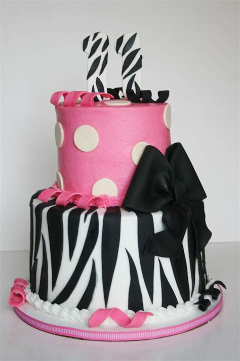 zebra and hot pink 11 year old girl teen girls bedroom cute birthday cakes for 11 year old girls www imgkid com