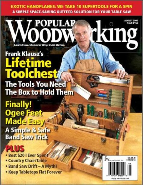woodworkers magazine popular woodworking magazine free 187 plansdownload