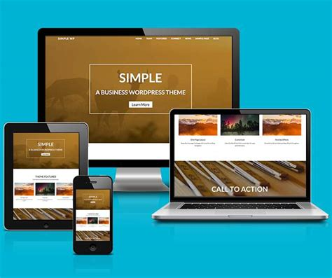 download themes for simple mobile simple wordpress theme