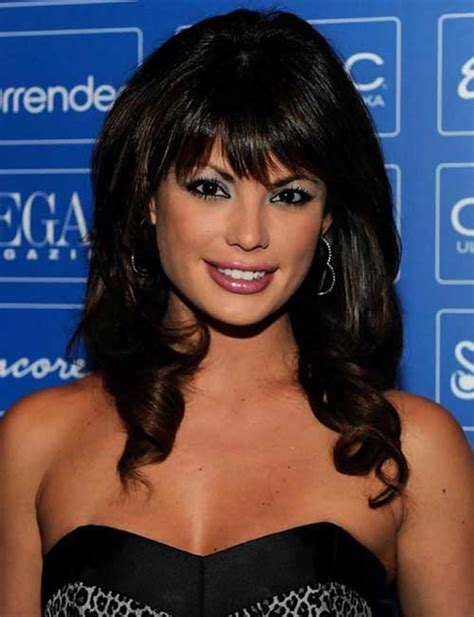 Hairstyles With Bangs And Curls by Haircuts For Medium Thick Hair Hairstyles Haircuts
