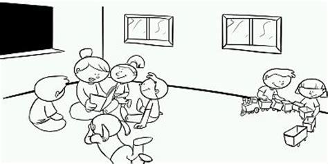 imagenes para colorear jardin de infantes dibujos del d 237 a de los jardines de infantes para colorear