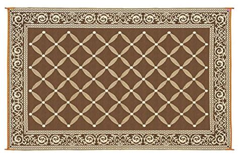 outdoor rugs for cers reversible mat brown beige patio mat item no 119127 9 x 12 837654533130 toolfanatic