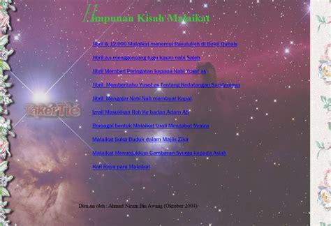Software Syarah Kitab Riyadhus Shalihin shared kitab kisah malaikat