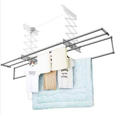 Ceiling Laundry Rack by Qoo10 Wellex Ceiling Mounted Folding Laundry Drying Rack System Clothesdry Furniture Deco