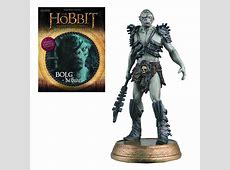 The Hobbit Bolg The Orc Figure with Collector Magazine #6 Eaglemoss