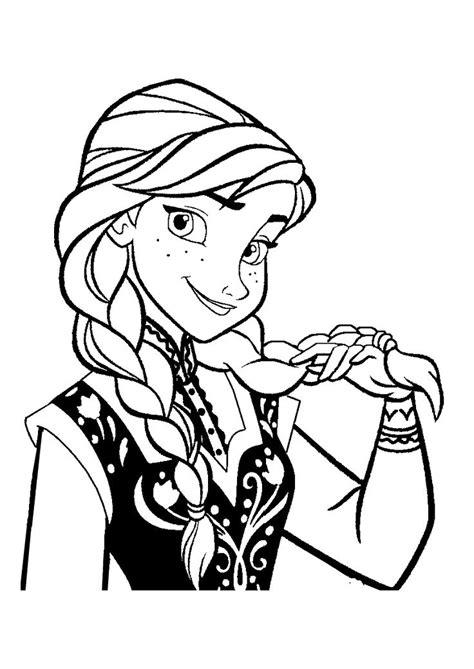 princess coloring pages frozen anna to print 171 coloriage la reine des neiges anna 4 187 click on