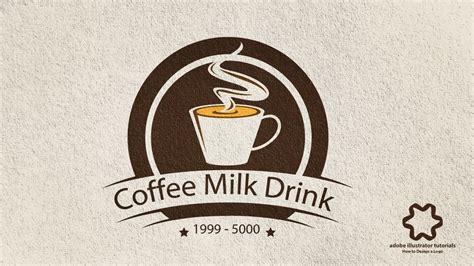 adobe illustrator cc coffee vintage logo design