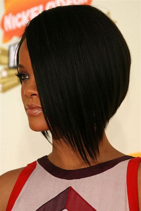 rihanna hairstyles bob haircut makes its debut on ellen todaycom rihanna y su camaleonica melena make up hair