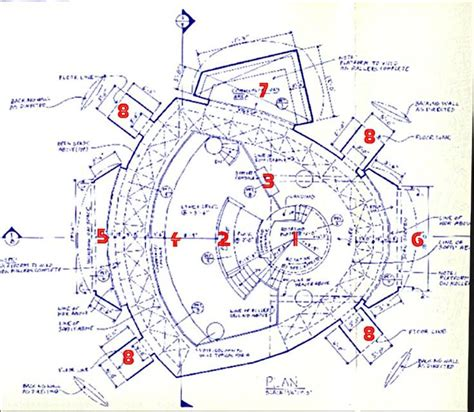 battlestar galactica floor plan 62 best tv shows movie blueprints plans schematics
