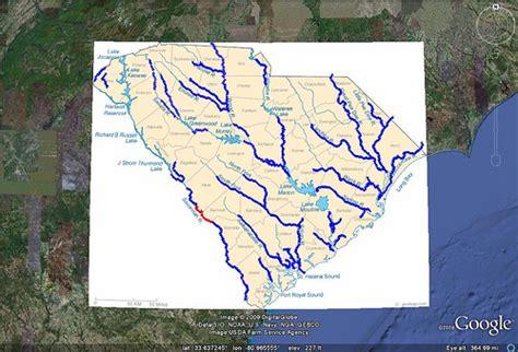 river map of carolina south carolina rivers tom flickr