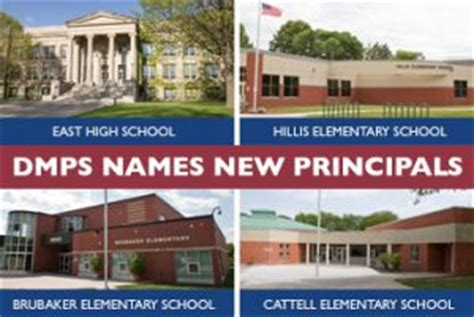 Des Moines School Calendar Dmps Names New Principals For The 2015 16 School Year