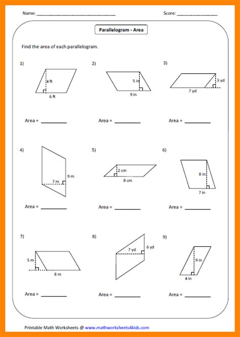free printable area of trapezoid worksheets 11 area of trapezoid worksheet liquor sles