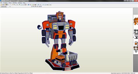 Transformers Papercraft - transformer papercraft templates papercraft