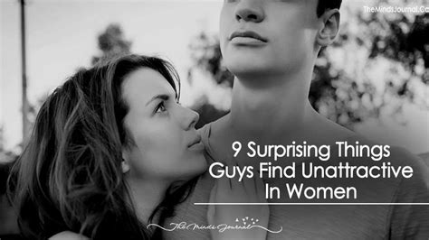 Things Guys Find by 9 Surprising Things Guys Find Unattractive In The