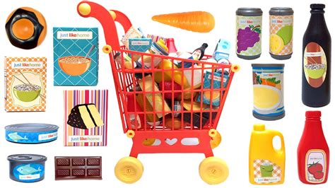 just like home mega grocery playset supermarket