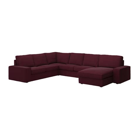 ikea kivik sofa with chaise kivik corner sofa 2 2 with chaise dansbo red lilac ikea