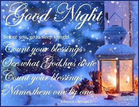 image of winters blessing christmas tree winter goodnight blessings quote pictures photos and images for