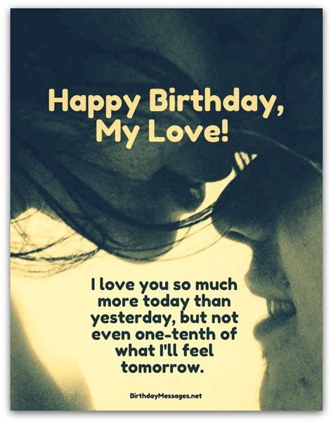 Happy Birthday Wishes To Lover In 25 Best Ideas About Romantic Birthday Wishes On Pinterest
