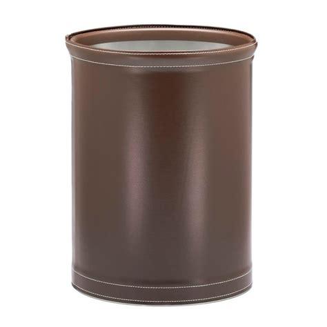 waste basket umbra woodrow 2 25 gal wood waste basket 082780 213 the