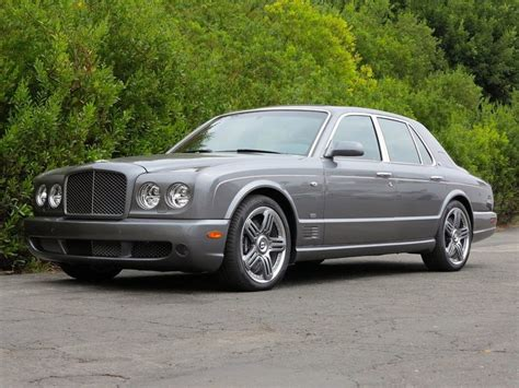 tungsten gray 2009 bentley arnage t for sale mcg marketplace
