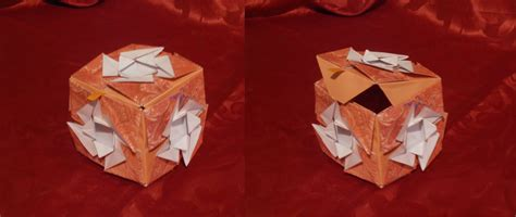 Origami For Sale - small marble origami box for sale weasyl