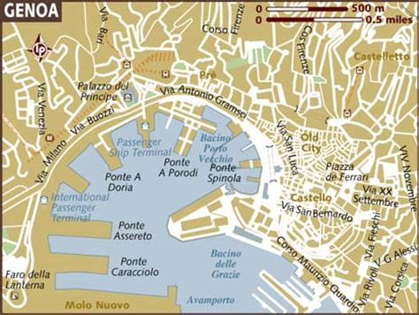 genoa world map map of genoa