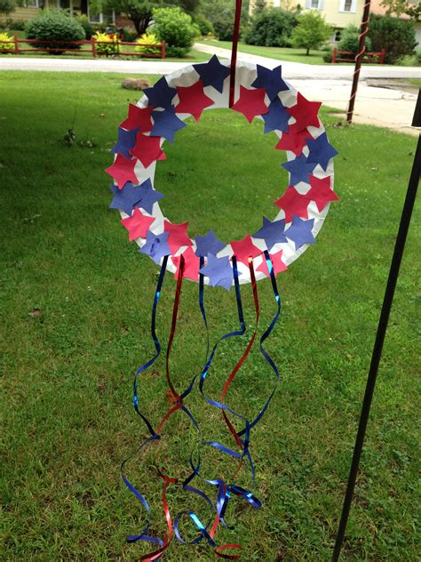 day kid crafts ideas craft patriotic wreath