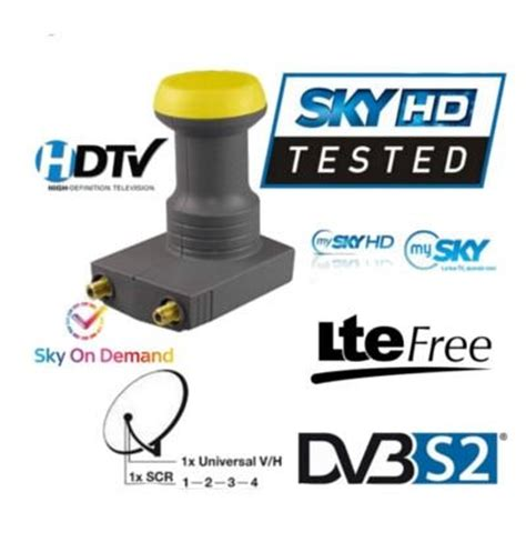 illuminatori scr lnb scr unicable my sky
