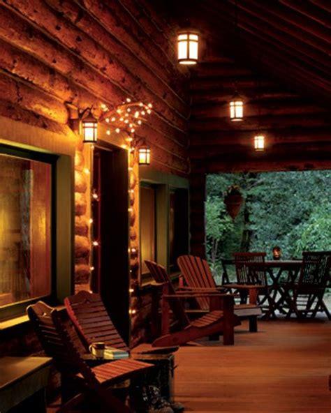 Porch Lights by Cabin Porch Carolina Rustic