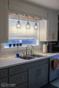 Kitchen Sink Light Fixtures Best 20 Kitchen Sink Lighting Ideas On Kitchen Cabinets Craftsman Kitchen And