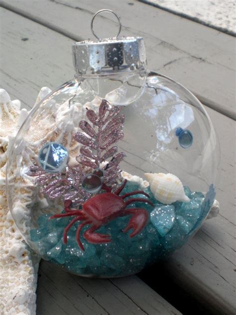 under the sea beach christmas ornaments ocean aquarium