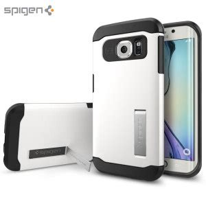 Samsung Galaxy S6 Spigen Stand Tough Armor Hardcase S S spigen slim armor samsung galaxy s6 edge shimmery white