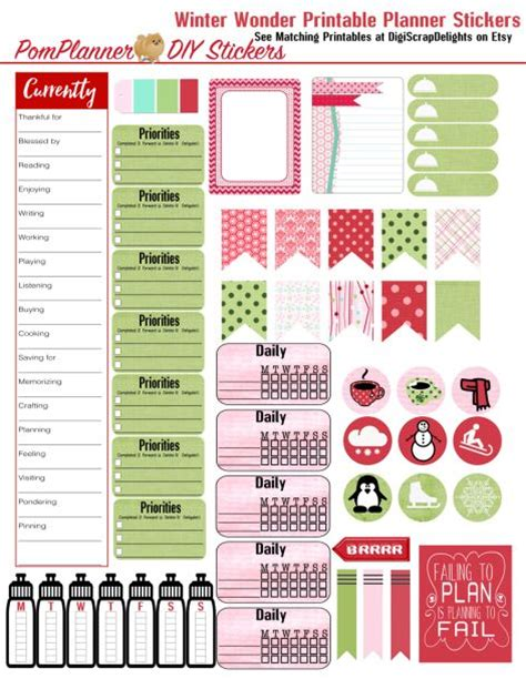 happy healthy life printable planner 1000 images about printable stickers sheets on