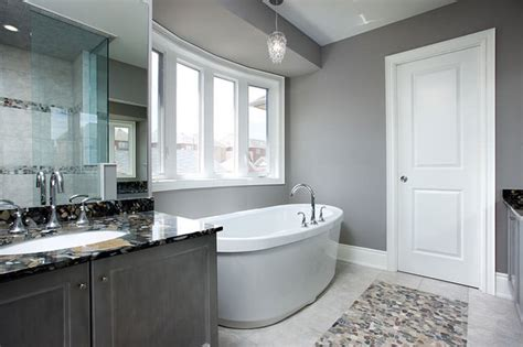Gray Bathroom Ideas Gray Bathroom Contemporary Bathroom Toronto By Lockhart Interior Design