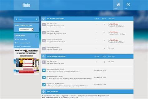 free phpbb templates 45 free and premium phpbb themes webprecis