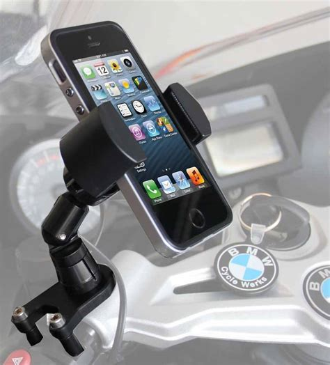BMW Motorcycle Cell Phone Control Mount   RadarBusters.com