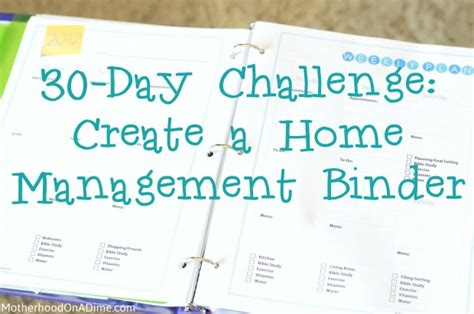 home management binder templates free binder printable images gallery category page 1