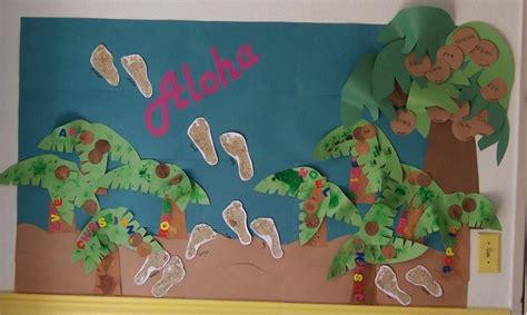 Busch Gardens Summer Pass - summer garden display board preschool kids art decorating ideas