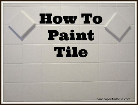 how to remove tile paint from bathroom tiles painting bathroom tile diy pinterest