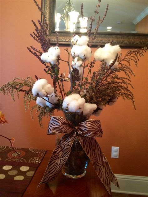 1000  images about Cotton Arrangements on Pinterest