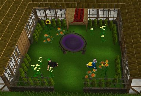 formal garden runescape fancy hedge the runescape wiki