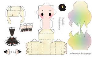 Vocaloid Papercraft - vocaloid 3 mayu papercraft by malenayogurt on