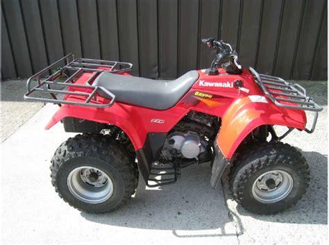 2000 Kawasaki Bayou 220 by 2000 Kawasaki 220 Motorcycles For Sale