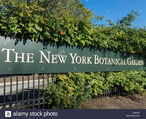 new york botanical garden bronx new york botanical garden entrance sign the bronx ny