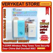 Door Bell Chime Wireless V Zorr Bc door chime price harga in malaysia wts in lelong